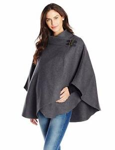 Ripe-Maternity-Women-039-s-Maternity-Buckle-Cape-Coat-Small