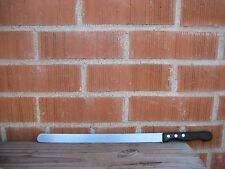 "Vintage 12"" Blade * CANCO * XL Sharp Flexible Salmon Lox Slicing Knife AUSTRIA"
