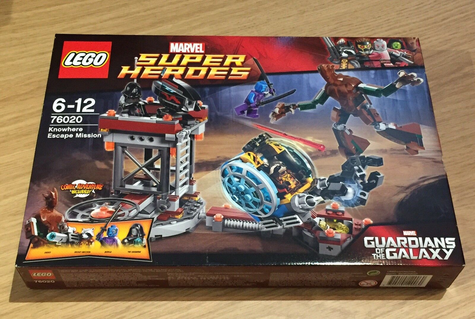 LEGO Marvel Super Heroes Knowhere Escape Mission 76020. Brand New Sealed Box