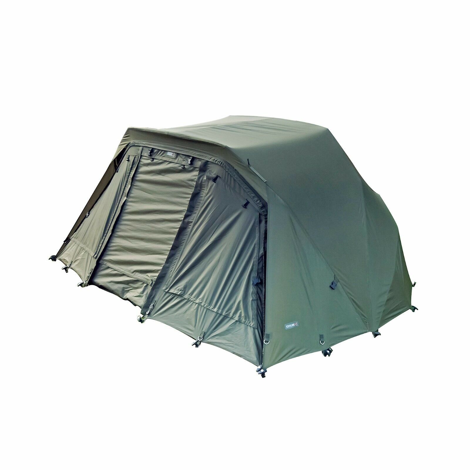 Chub Tri-Brid Fishing Shelter   Bivvy Overwrap With T-Pegs and Carry Bag