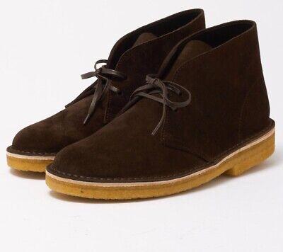 Details about Clarks Originals Desert Boots Brown Suede Italy. Men's Sizes. 26128538