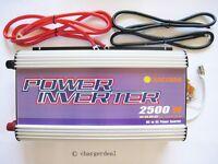 Us Stackable 2500w Off Grid Power Inverter 12v 24v 48v Dc To 240v Or 120v Ac