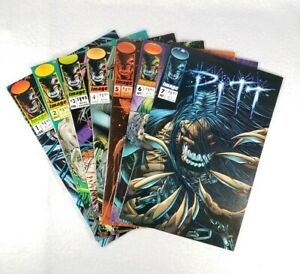 Image-Comics-PITT-1-2-3-4-5-6-7-Set-Lot-Run-1993-Series-Dale-Keown