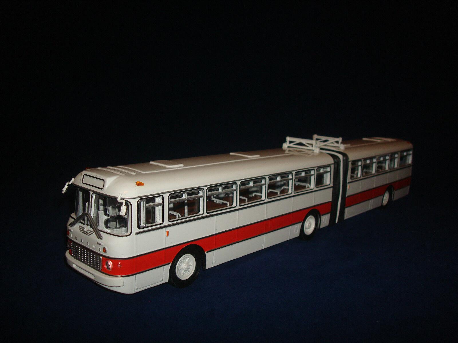 estar en gran demanda Ikarus 180 blancoo-Rojo URSS Soviética Bus 1 1 1 43  buscando agente de ventas