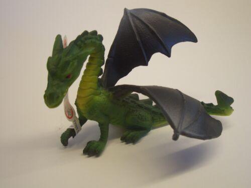 BULLYLAND 75529 Drago Verde 11 cm Fantasy