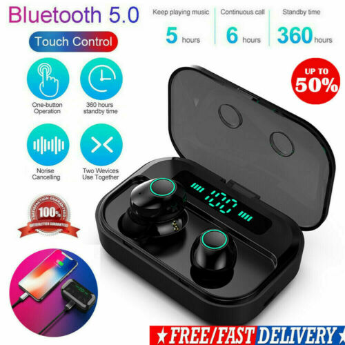 B10 Bluetooth 5.0 TWS Kabellose Sportkopfhörer Stereo Ohrhörer Freisprech Headse