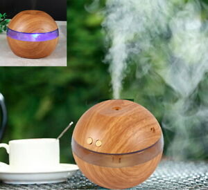 Wood-Grain-Ultrasonic-Humidifier-Essential-Diffuser-Aroma-Aromatherapy-Purifier
