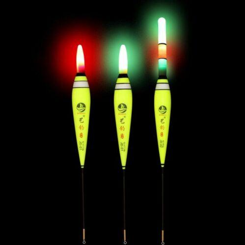New Led Electronic Fishing Float Light Buoy Luminous Bobber Night Fishing Tackle