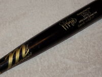 Albert Pujols Maple Marucci Game Used Signed Bat 2012 Angels MLB PSA DNA GU 10