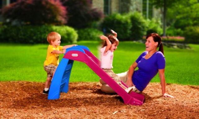 10Ft Wavy Slide Kids Play On Outdoor Garden Toddler Fun Playground Toys SALE