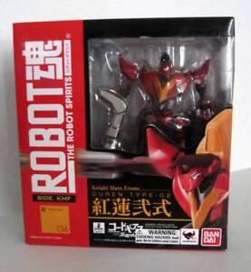 Les robots des esprits - Guren Type 02 Side Kmf 136 Bandai 4543112798572