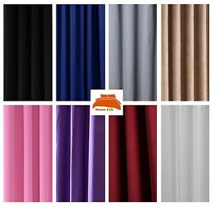 """Blackout Thermal Soft Ivory Curtain Lining Fabric Pass 3-54/"""" wide"""