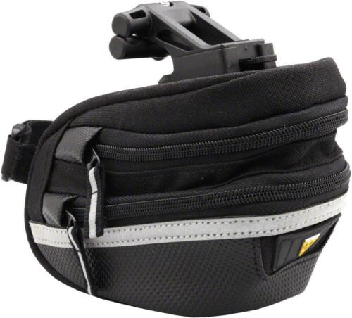 Black Topeak Survival Wedge Pack II Seat Bag with Tool Kit  and Mount