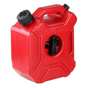 3L-PORTABLE-JERRY-CAN-GAS-PLASTIC-FUEL-TANK-PETROL-ATV-UTV-MOTORCYCLE-amp-BRACKET