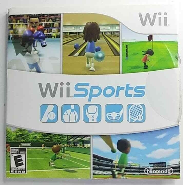 Wii Sports (Nintendo Wii, 2006) on eBay thumbnail
