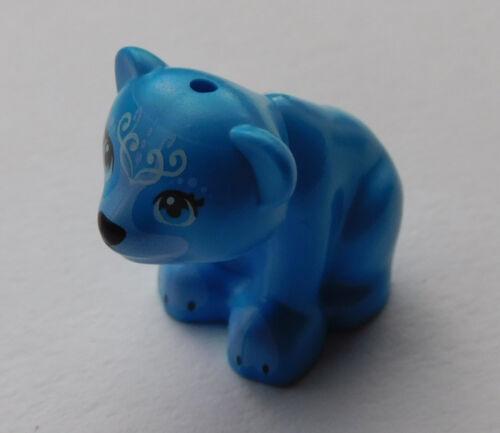 Lego kleiner Bär sitzend in dunkel azurblau Neu 14732pb04 dark azure bear