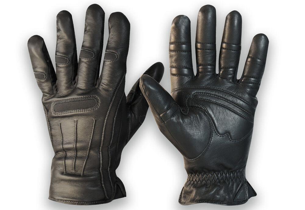Bionic Gloves Men's Premium Cashmere-Lined Winter Gloves 2X-Large Black Leather