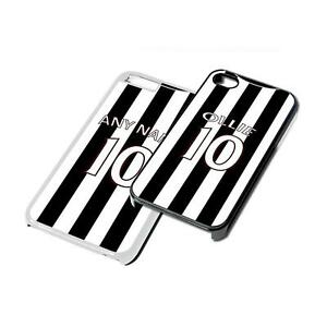 NEWCASTLE-Black-and-White-Football-Kit-Phone-Cover-for-iPhone-iPod-Samsung-6-7