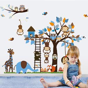 Kids-Nursery-Room-Wall-Decal-Sticker-Home-Decor-Vinyl-Art-Removable-Stickers
