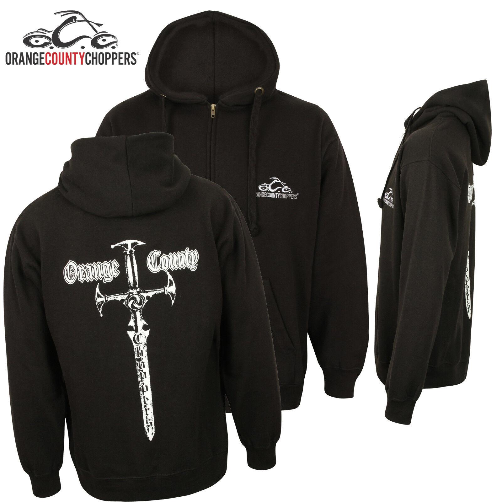 Orange County Choppers Zip Hoodie Genuine OCC American Biker Custom Clothing