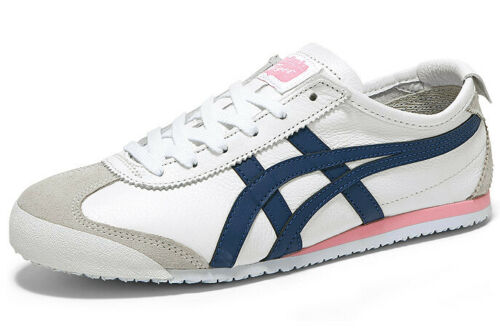 Asics Onitsuka Tiger Mexico 66 White Blue Women Running Casual Shoe 1182A078-104
