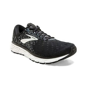 BROOKS-GLYCERIN-17-Scarpe-Running-Uomo-Cushion-BLACK-EBONY-SILVER-110296-047