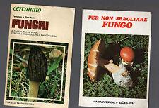funghi - 2 manuali  10 euro- decquw