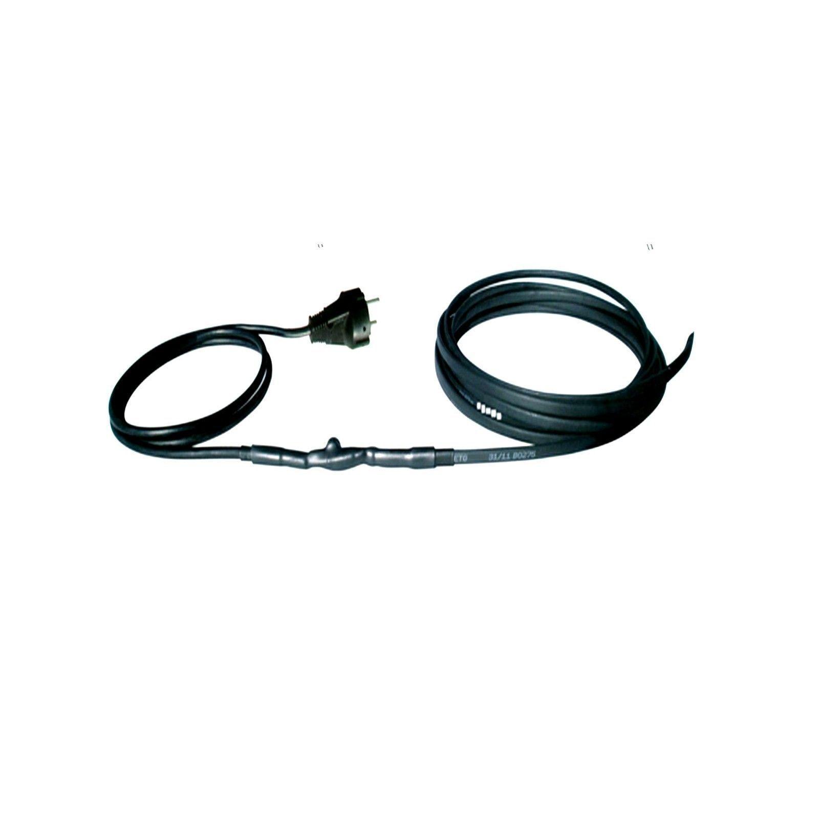 20 M Cable de Chauffage Gouttières Prougeection contre le Gel & Thermostat