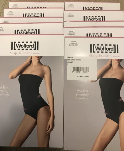 WOLFORD Essentials Bandeau Swimwear BODY SCULPTING High-End Quality MSRP $305