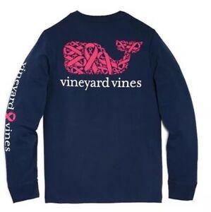 NWT Boy/'s Vineyard Vines Vintage Andros Blue Whale Pocket T-Shirt L Or XL
