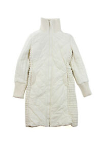 quality design d3182 0f96a Details about Fornarina Avenue Milk piumino lungo/Long Quilted Jacket