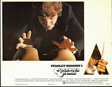 A CLOCKWORK ORANGE orig X RATED lobby card MALCOLM MCDOWELL 11x14 movie poster