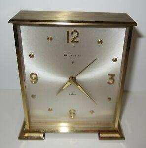 Tiffany-amp-Co-Desk-Alarm-Clock-8-Day-7-Jewels-Mechanical-Wind-up