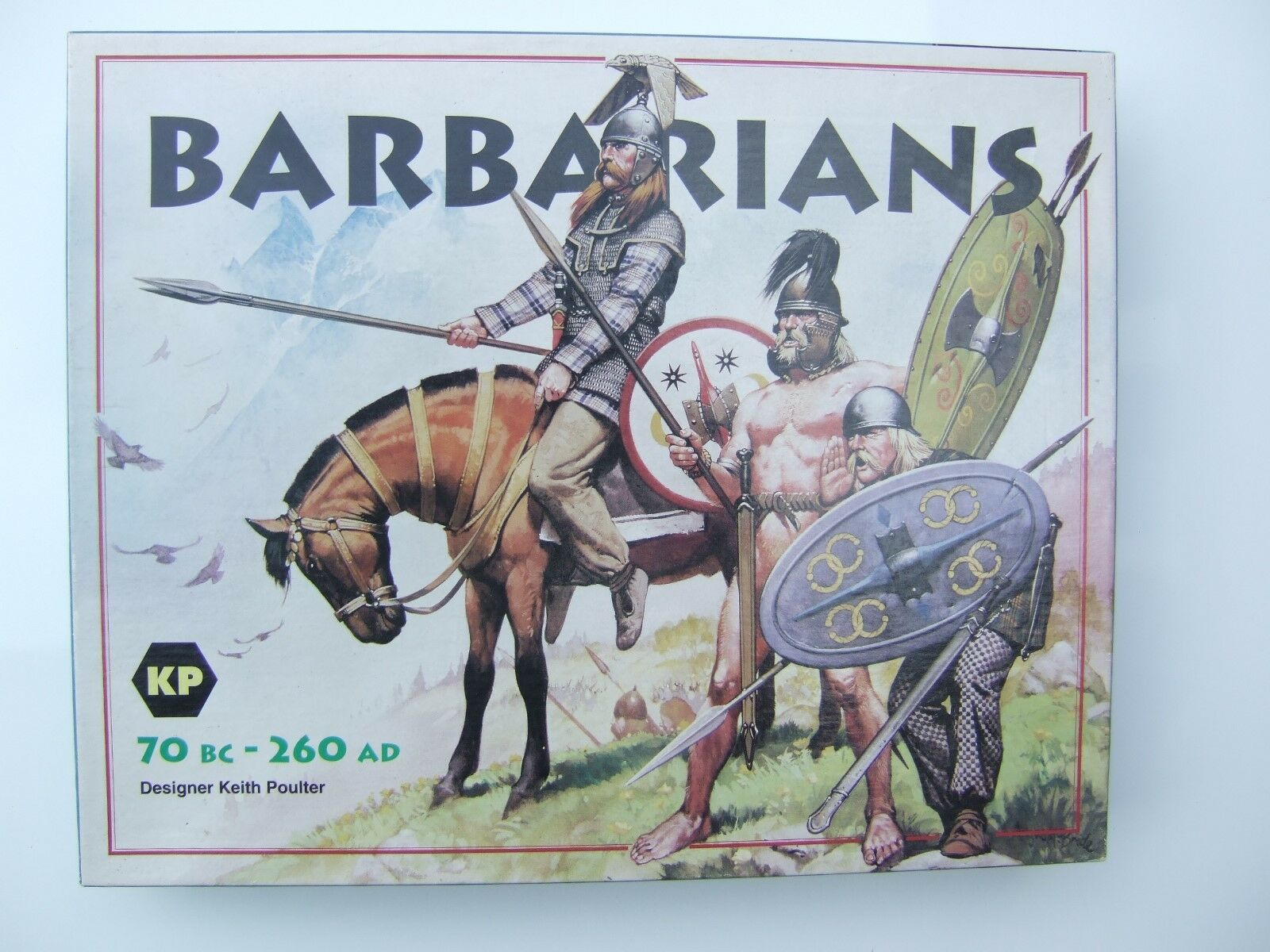 Barbarians (70 BC - 260 AD) by KP (Designer Keith Poulter)
