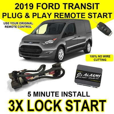 2016 Ford Transit Plug and Play T-Style Remote Starter w// 2 Mini Remotes