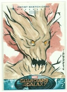 2014-MARVEL-GUARDIANS-OF-THE-GALAXY-034-GROOT-034-SKETCH-CARD-by-Anthony-Wheeler-1-1
