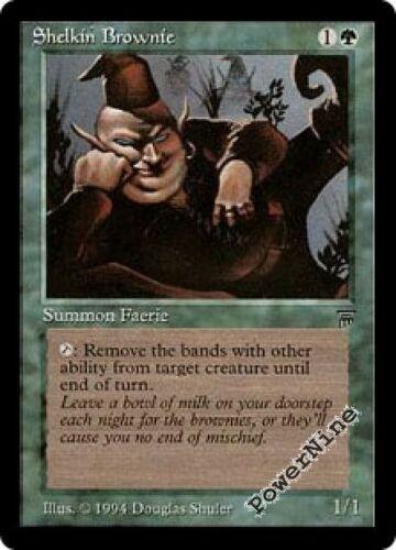4 Shelkin Brownie ^ Green Legends Mtg Magic Common 4x x4