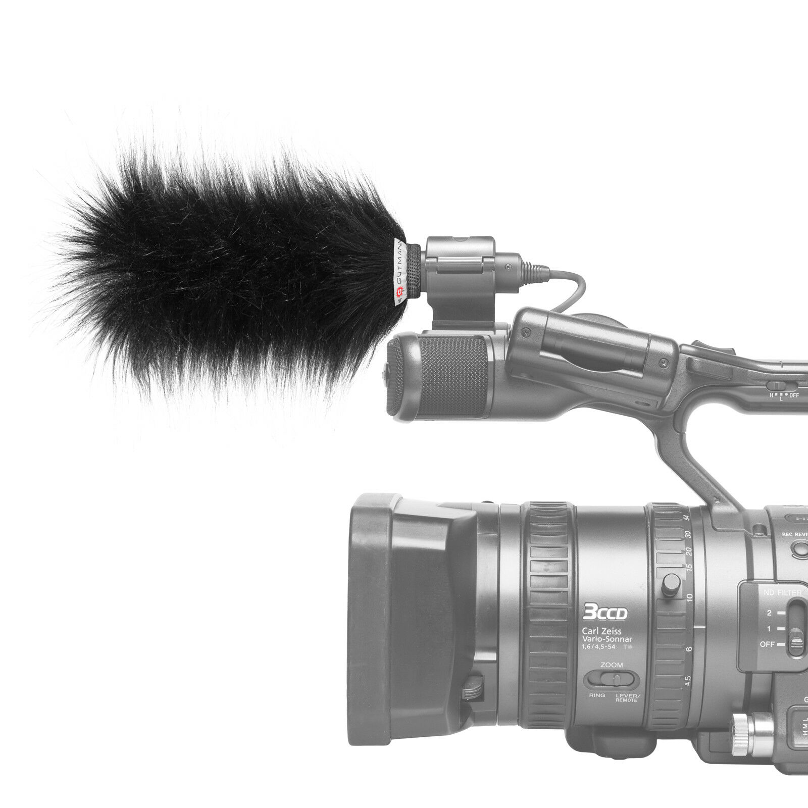 Gutmann Microphone Fur Windscreen Windshield for Sony PDW-510 / PDW-510P