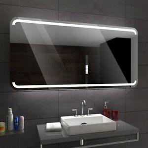 mediolan badspiegel mit led beleuchtung wandspiegel badezimmerspiegel nach ma ebay. Black Bedroom Furniture Sets. Home Design Ideas