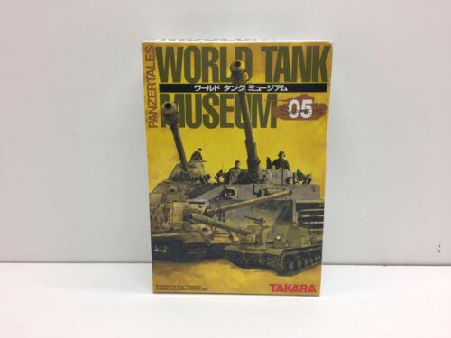 PANZERTALES WORLD TANK MUSEUM 05 SERIES TAKARA