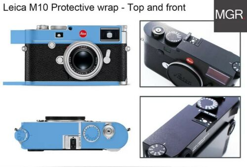 Front Back Wrap Film Screen Protector Glass Sticker 2x Leica M10 Top base
