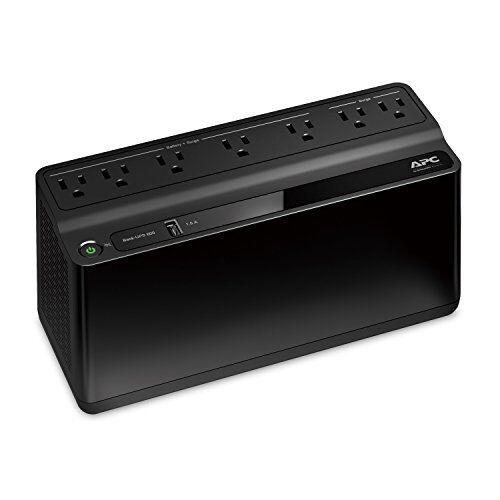 BE600M1 Back-UPS 600VA Battery Backup /& Surge Protector USB Charging Port