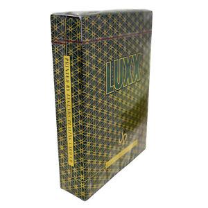 LUXX-Elliptica-Playing-Cards-Classic-Borderless-Poker-Decks-First-Edition-GREEN