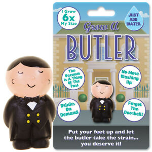 GROW-A-BUTLER-NOVELTY-TOY-WORK-OFFICE-GIFT-PARTY-XMAS-CHRISTMAS-STOCKING-FILLER