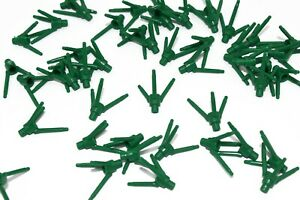 Lego Green Plant Flower Stem Parts Pieces Lot Of 100