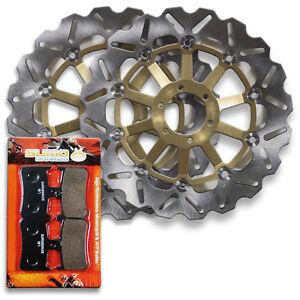 Honda-Front-Brake-Disc-Rotor-Pads-CBR-900-RR-RRR-Fireblade-1994-1997