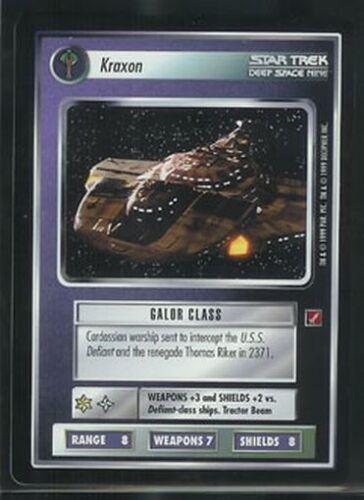 Star Trek BOG RARE Kraxon NM//M
