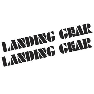 BMX-LANDING-GEAR-STICKERS-200x21mm-2X-STICKERS-AVAILABLE-IN-LOTS-OF-COLOURS