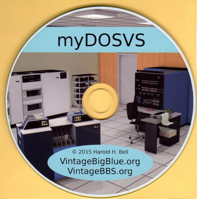 Great Mother of z/VSE  ---->  IBM 370 Mainframe OS on PC ----> myDOSVS