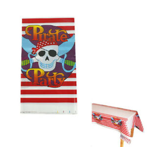 Pirate-Party-Disposable-Table-Cover-Tablecloth-Napkins-DIY-Party-Decoration-X-SP